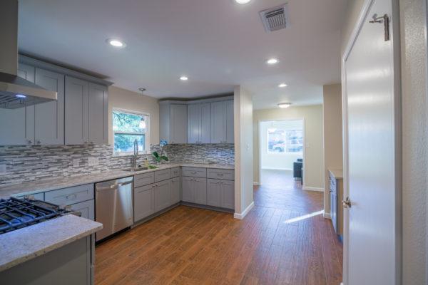 Full-Modern-Kitchen-Remodel-Gray-Cabinets-LED-Lighting