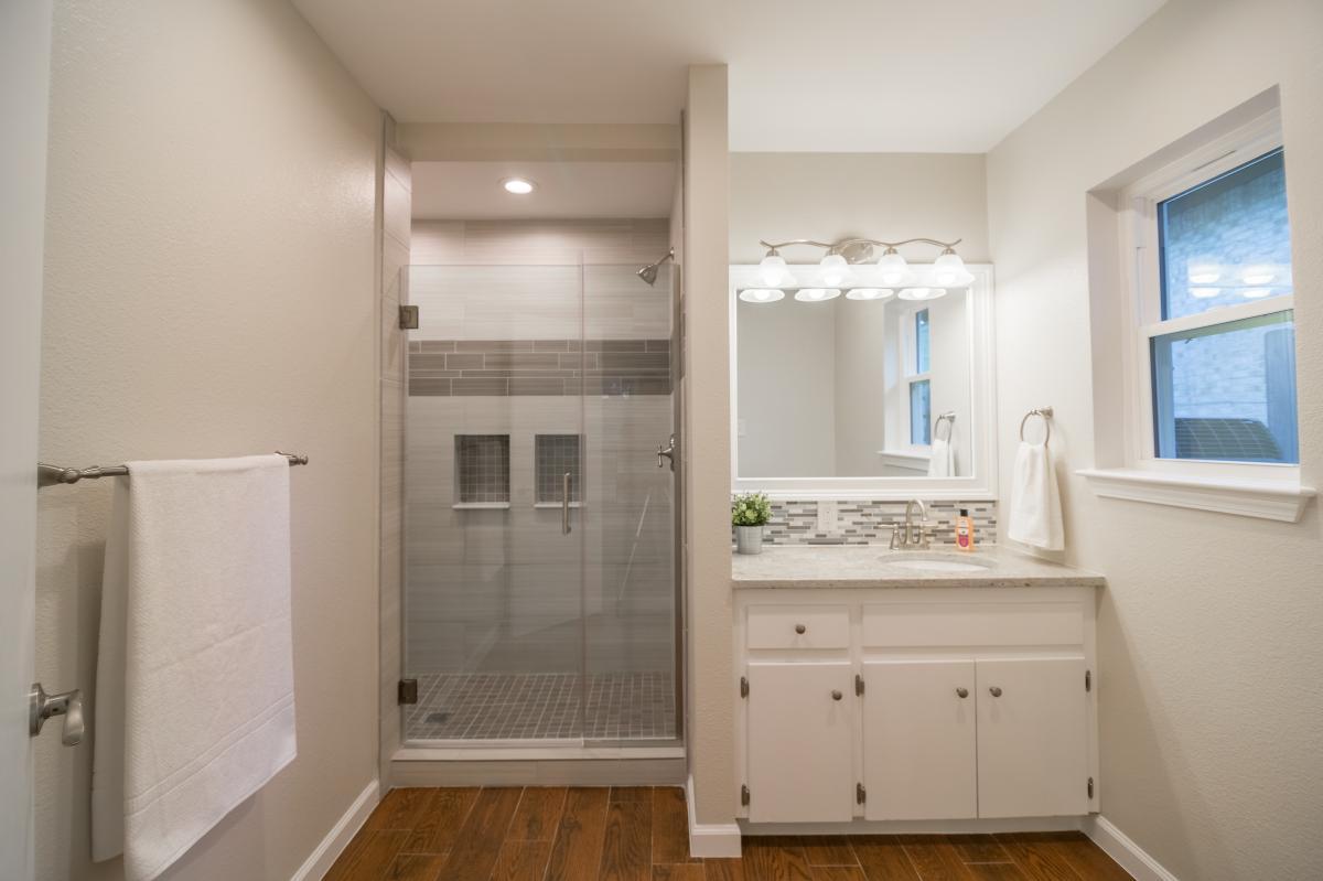 complete bathroom remodel. master bathroom remodeling pictures