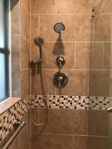 Bathtub to Walk in Shower Conversion Hand Shower and valves