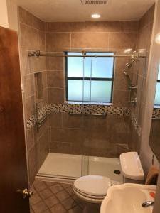 Bathtub to Walk in Shower Conversion cast iron Shower Receptor